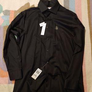 Calvin Klein Black Dress Shirt Regular Fit